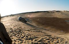 (sizeisphotos) Tags: sky sun film analog 35mm photography desert downhill fisheye