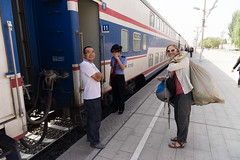 Train to Zhangye