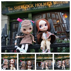 Double duty: Sherlock Holmes London Itinerary and Blythe A Day 4 February 2015  - Museum