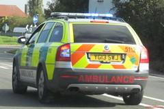 West midlands ambulance service-Skoda octavia scout-rapid response vehicle-YG13 SWJ-5112 (Sierraoscar595) Tags: west scout ambulance vehicle service rapid skoda octavia midlands response 5112 rrv swj wmas yg13 yg13swj