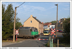 SNCF 67503 - Quenast (01-10-2014) (Vincent-Prins) Tags: sncf bb67400 67503 quenast