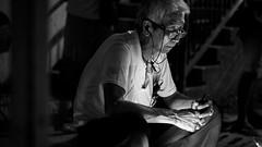 _3330099.jpg (Presence Inc) Tags: street light portrait people urban bw night dark lumix photography community singapore streetphotography panasonic nightlife society geylang geylangserai 425 nightpeople gx7 nocticron nocticron425
