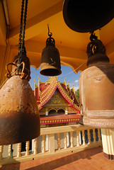 Bell tower (mikaschick) Tags: bells thailand temple bell buddhist religion buddhism symbols nongkhai