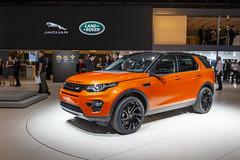Jaguar Land Rover Press Conference Paris Motor Show 2014 (landrovermena) Tags: paris alt eiffeltower winner landrover parisfashionweek riverseine parismotorshow discoverysport jaguarxe