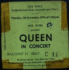 8bc517d70a7517 Queen Tour Memorabilia – QueenMuseum.com