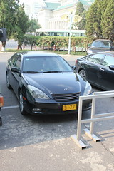 Privately owned vehicle (Ray Cunningham) Tags: private north plate korea license pyongyang dprk coreadelnorte