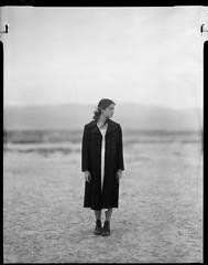 fani (thodoris markou) Tags: portrait bw film analog kodak 4x5 graflex speedgraphic fomapan400 aeroektar 178mmf25