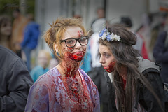 Ottawa Zombie Walk - 2014 (MatthewPerry) Tags: ontario canada halloween walking dead scary blood downtown artist body zombie walk parts ottawa makeup brain brains bones horror scare thrill guts