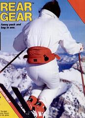 6569863 (onesieworld) Tags: snow ski fashion fetish one shiny neon suit 80s piece nylon catsuit onesie kink