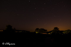 Starry Scottish night (ETyson89) Tags: light night stars photography scotland pollution cannon starry dumfries 600d