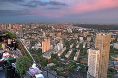 Dinner With A View (DaveFlker) Tags: skyline thailand bangkok banyantreehotel moonbar vertigogrill