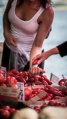 Pimping Tomatoes (ImageWright) Tags: street photography market kensington