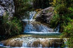 Neel wahn water fall and ponds (Ali's Photograpy) Tags: blue pakistan mountain green nature water waterfall pond calm ali punjab chakwal aliasghar khoshab neelwahn neelwaan