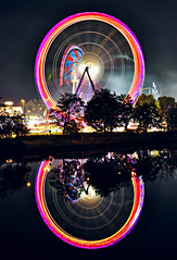 Ferris wheel of the Cannstatter Wasen (Andreas Mezger - Art Photography) Tags: sky berlin rot andy water beautiful wheel dave river germany landscape bavaria photography amazing nice nikon kitten exposure stuttgart nirvana banksy sigma ferris images andreas best tokina professional business most excellent buy getty worst manual nikkor sell better nofx hdr impressive andi gettyimages highest kant grohl d300 wasen junip d90 leuze mezger superlativ