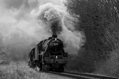 LMS 5MT 45379, Bishops Sutton (daveymills37886) Tags: lms 5mt 45379 class black 5 watercress line mid hants railway