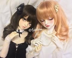 Elyse & ??? (Beth) (TURBOW) Tags: doll toy dollfie bjd balljointeddoll volks superdollfie sdgraffiti sdgr lorina bethmarch