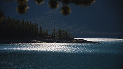 Lake Minnewanka Morning DSL4218 (iloleo) Tags: light landscape lakeminnewanka alberta banffnationalpark nikond7000 scenic nature canada