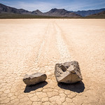 Moving stones in Racetrack - Death Valley, United States - Travel photography thumbnail