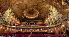 BFF_7978-Edit (Bonnie Forman-Franco) Tags: fisheye unitedpalace stageview architecture restoration theatres seats ceiling