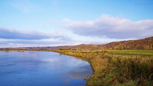 Kazimierski Park Krajobrazowy, Wisła jesienią  1