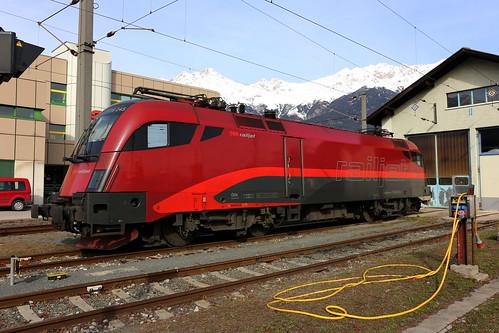 ÖBB 1116 245-2 Railjet, Innsbruck