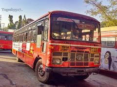 Kolhapur - Ganpatipule (yogeshyp) Tags: msrtc maharashtrastatetransport msrtcparivartanbus kolhapurganpatipulestbus kolhapurdepotbus