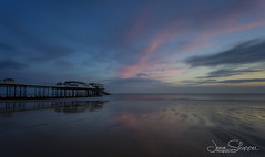 Before Dawn at Cromer (jammo s) Tags: cromer cromerpier sea northsea northnorfolk dawn sunrise tide coastal coast norfolk wideangle longexposure 10stop landscape seascape landscapephotography lightroom canoneos6d canonef1740mmf4lusm