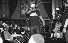 Get Ready for Combat (Brother Christopher) Tags: event events monochrome monochromatic blackandwhite portrait hiphop dasefx das efx combatjack combat jack lsn loudspeakersnetwork rap culture perform performance az nyc queens brooklyn thebronx classic legend legendary podcast brotherchris explore bbkings midtown venue party music