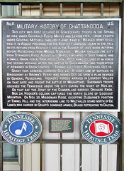 CHATTANOOGA 1667 (RANCHO COCOA) Tags: chattanoogachoochoo terminalstation chattanooga tennessee southside train hotel militaryhistory history sign plaque landmark
