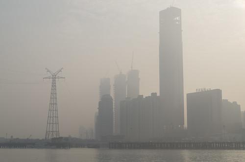 Skyscrapers in the haze, 13.03.2017.