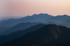 light and shadow (Flutechill) Tags: mountain doiangkhang sunset sunshine light shadow landscape layer nature