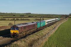 66746 25-03-17 (IanL2) Tags: gbrf royalscotsman 66746 ecml unitdrag trains railways