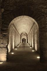 Ghost (Maurizio Belisario) Tags: fotomontaggio fantasy ghost fantasma fortezzamedicea arezzo galleria castello castle