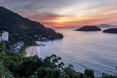 Holiday sunrise (shooterb9) Tags: sunrise beach forest angradosreis mangaratiba rj riodejaneiro brasil brazil view above nature greencoast costaverde outdoor brasilemimagens