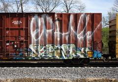 Fowl (quiet-silence) Tags: graffiti graff freight fr8 train railroad railcar art fowl moms ktc boxcar tobx tobx889240