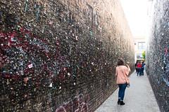 Bubblegum Alley (derekbruff) Tags: america slo alley bubblegum gross roadside
