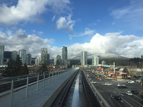 Riding the Translink SkyTrain Evergreen Extension
