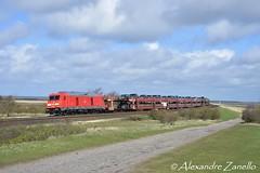 DB: BR 245 023, Morsum (D) (Alexandre Zanello) Tags: br245 traxx bombardier marschbahn sylt shuttle morsum