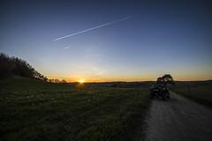 Balade de fin de journée (gougan21) Tags: coucher de soleil canam outlander xtp