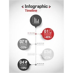 free Vector infographic timeline templates (cgvector) Tags: button chart concept data diagram graph graphic icon illustration infograph infochart infographic information line outline pictogram pictograph presentation profit report rounded set sign silhouette simple statistic stats symbol templates timeline vector web