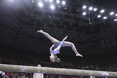 gymnastics021 (Ayers Photo) Tags: sports canon utahutes utah utes red redrocks gymnastics barefoot bare foot feet toes toe barefeet woman women