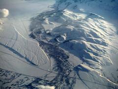 Gros Ventre River (Sotosoroto) Tags: wyoming aerial snow jacksonhole