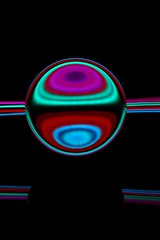 IMG_6070 (AndyMc87) Tags: lightstreams lighttrails lightpainting colourful colour glas kugel sphere globe langzeitbelichtung longtimeexposure mirror effect canon eos 6d abstrakt 2470 l reflection