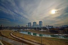OlympicPark (Аlhemund) Tags: москомспорт олимпийскаядеревня москва парк 80 moscow pan пан 10мм 10mm tamron tamronofficial nikon 1024 tamron1024 wide wideangle паркимосквы ponds olympic пруды