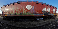 27 (۞Emptiness Of Light۞) Tags: 27 duece7 painting art moniker wholecar railroad mountains sailboat moon colorado co 2017