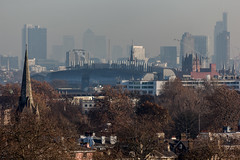 Primrose Hill (Gary Kinsman) Tags: primrosehill london nw1 canoneos5dmarkii canon5dmkii canon70300mm telephoto zoom city cityscape tower highrise view block winter 2016 mist compression skyscraper skyline urbanlandscape urban herontower barbican barbicantowers spires church canarywharf broadgatetower cityoflondon onecanadasquare hsbctower citigrouptower crane citipointtower michaelcliffehouse construction midlandgrandhotel clocktower stpancrasrenaissancelondon coucilestate socialhousing citypointtower citypoint isleofdogs turnpikehouse nidospitalfields 100middlesexstreet rooftops