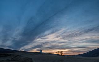 Corgarff Castle Sunset - Take One