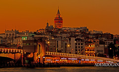 ISTANBUL (01dgn) Tags: galata istanbul turkey türkiye türkei colors sky sunset travel red