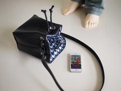 1PinFun Bucket Bag For BJD (1pinfun) Tags: bjd doll handmade miniatures accessories dollclothes purses craft taiwan etsy bags dollclothing
