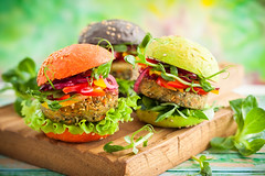 color burgers (Ask Dr. Nandi) Tags: appetizer bread burger carrot closeup cuisine delicious diet eating flax food fresh fritters green healthy ingredient lettuce lunch meal nobody onion pepper picnic portion quinoa raw red salad sandwich seed snack spinach spring sprout starter summer toast tomato vegan vegetable vegetarian veggie wooden russianfederation